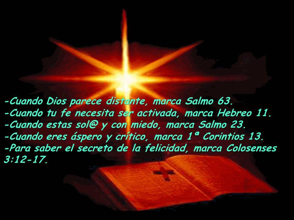 -Cuando Dios parece distante, marca Salmo 63