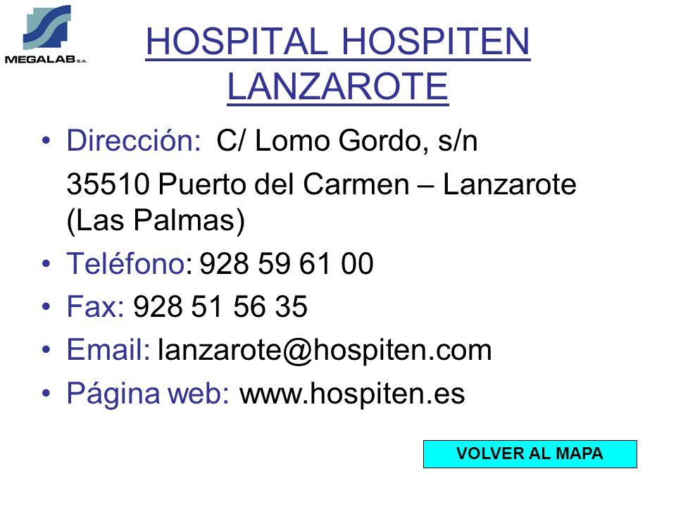 HOSPITAL HOSPITEN LANZAROTE