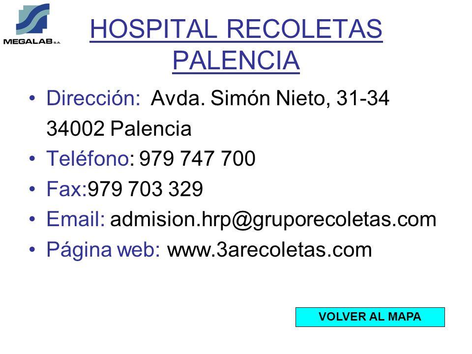 HOSPITAL RECOLETAS PALENCIA