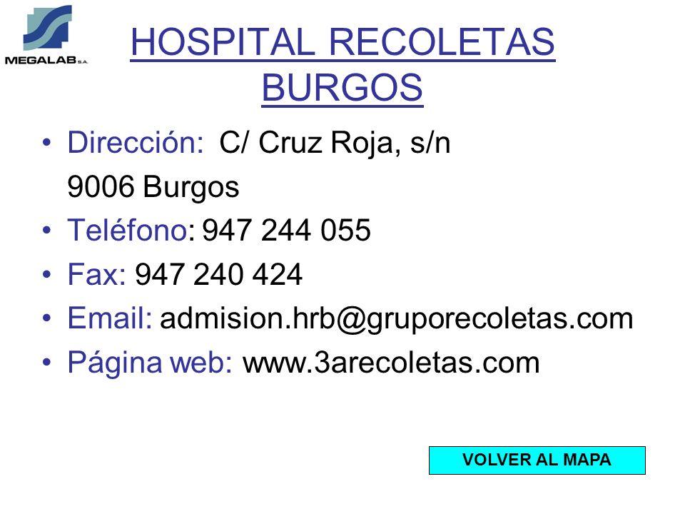 HOSPITAL RECOLETAS BURGOS