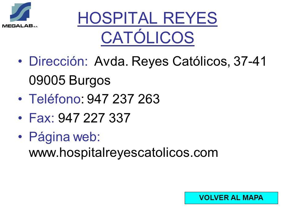 HOSPITAL REYES CATÓLICOS