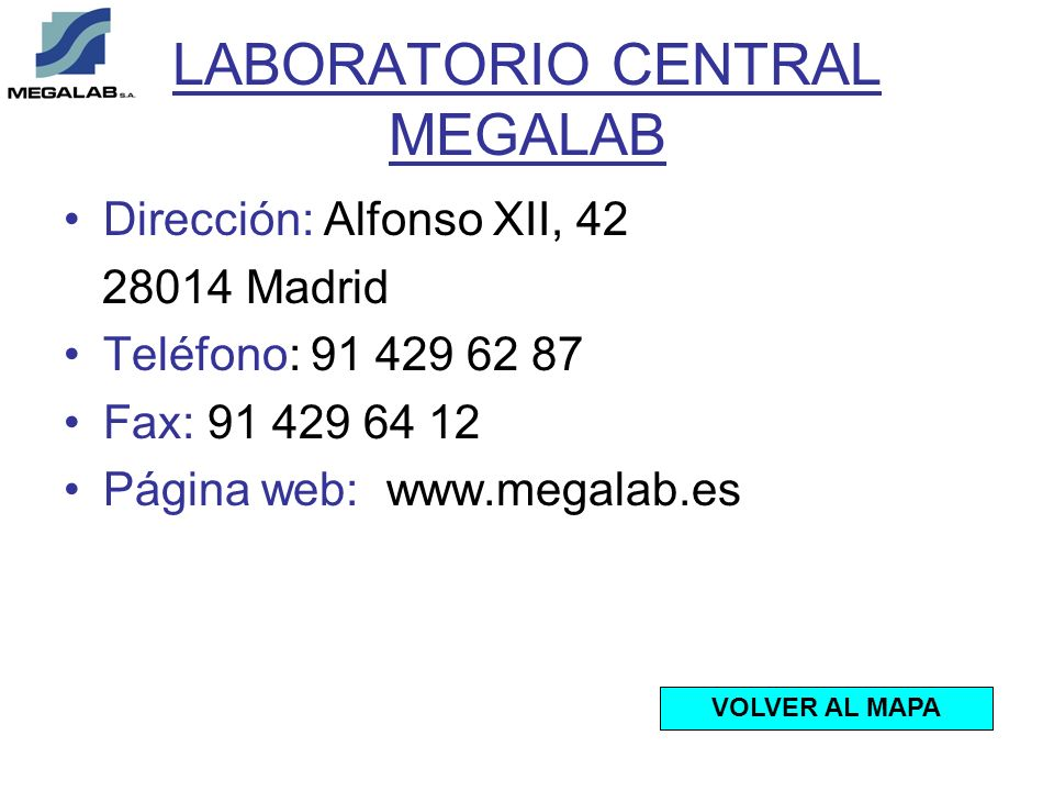 LABORATORIO CENTRAL MEGALAB