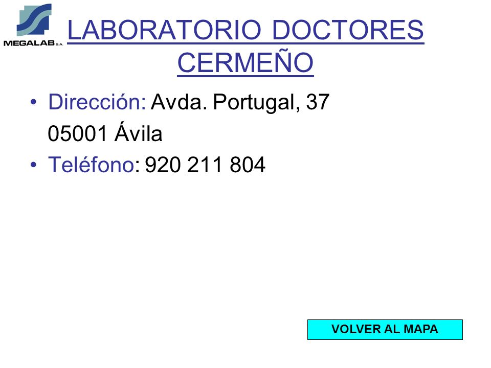 LABORATORIO DOCTORES CERMEÑO