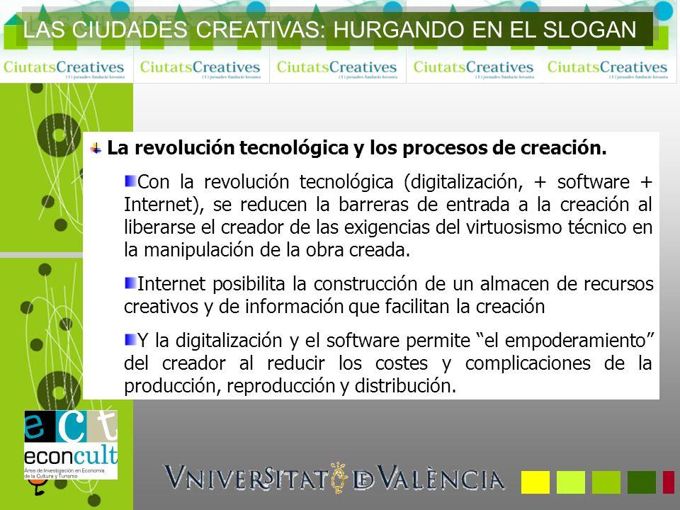 LAS CIUDADES CREATIVAS: HURGANDO EN EL SLOGAN