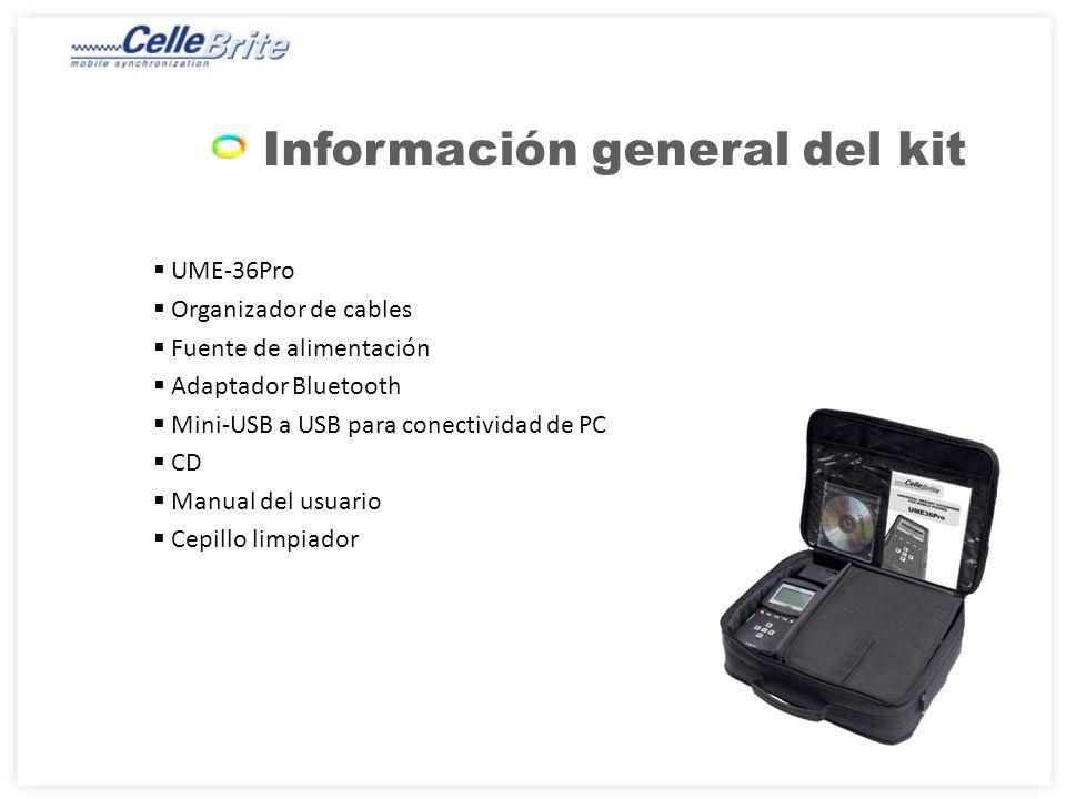 Información general del kit