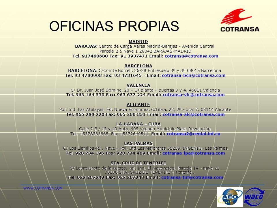OFICINAS PROPIAS MADRID