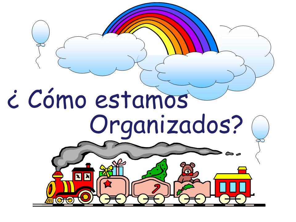 ¿ Cómo estamos Organizados