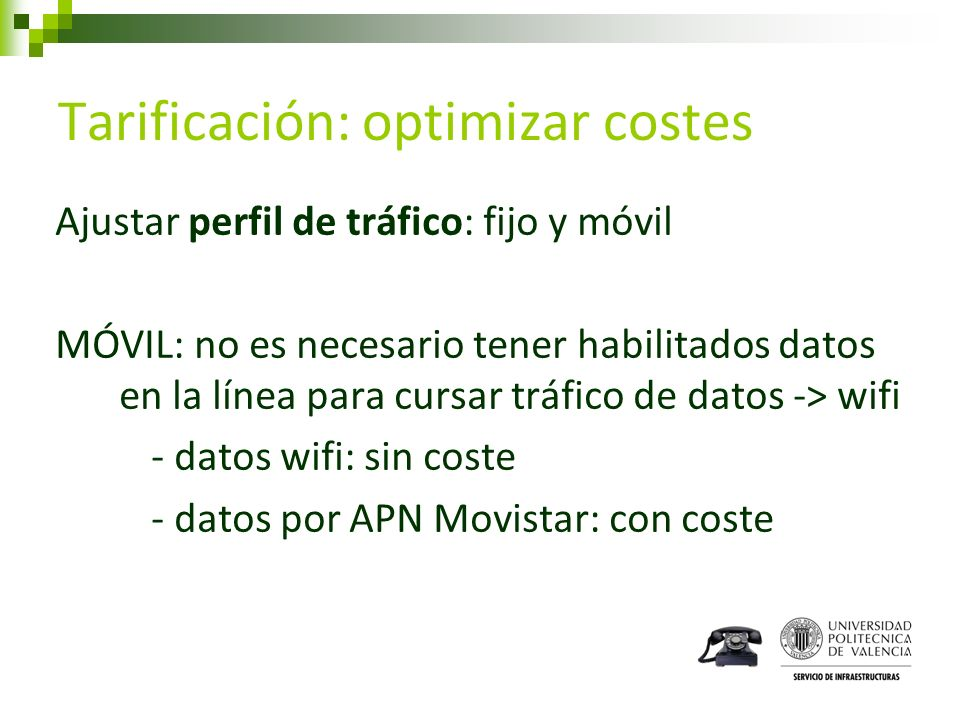 Tarificación: optimizar costes