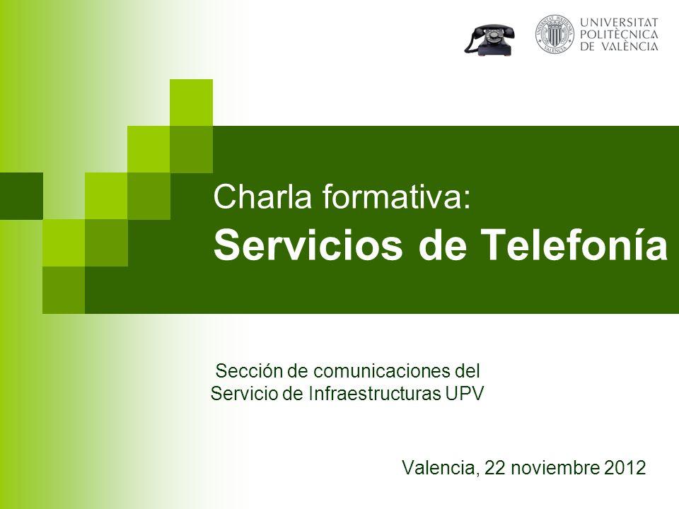 Charla formativa: Servicios de Telefonía