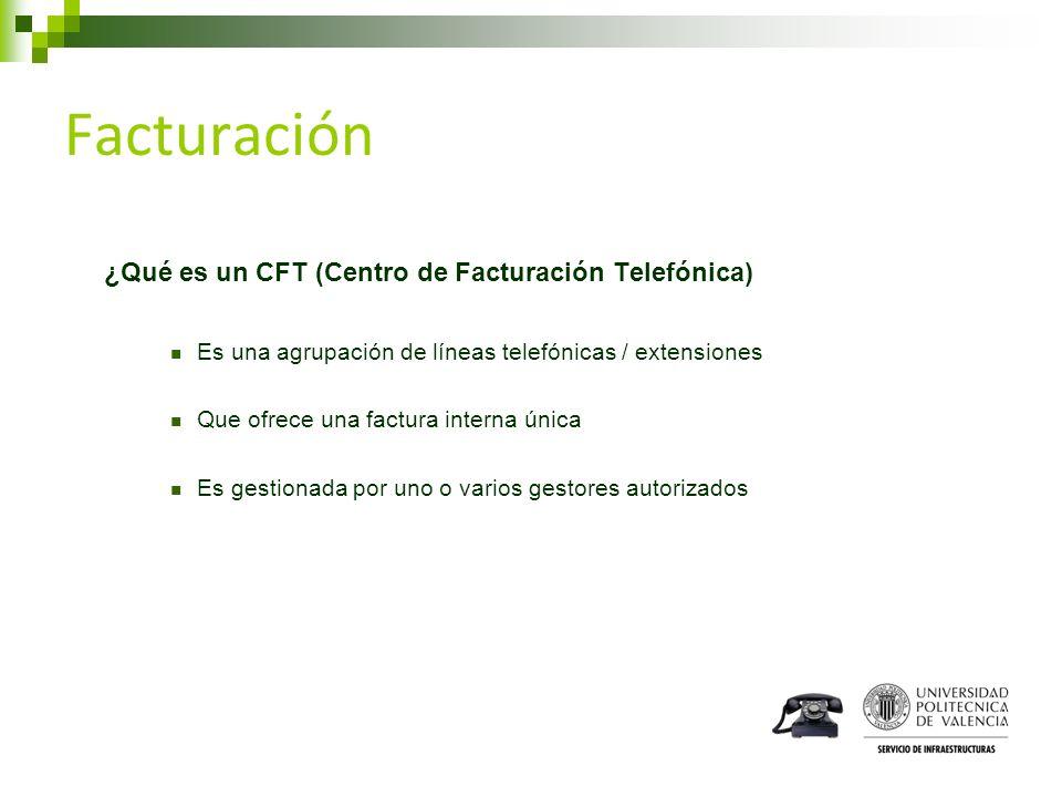 Facturación ¿Qué es un CFT (Centro de Facturación Telefónica)