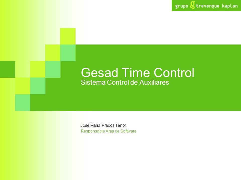 Gesad Time Control Sistema Control de Auxiliares