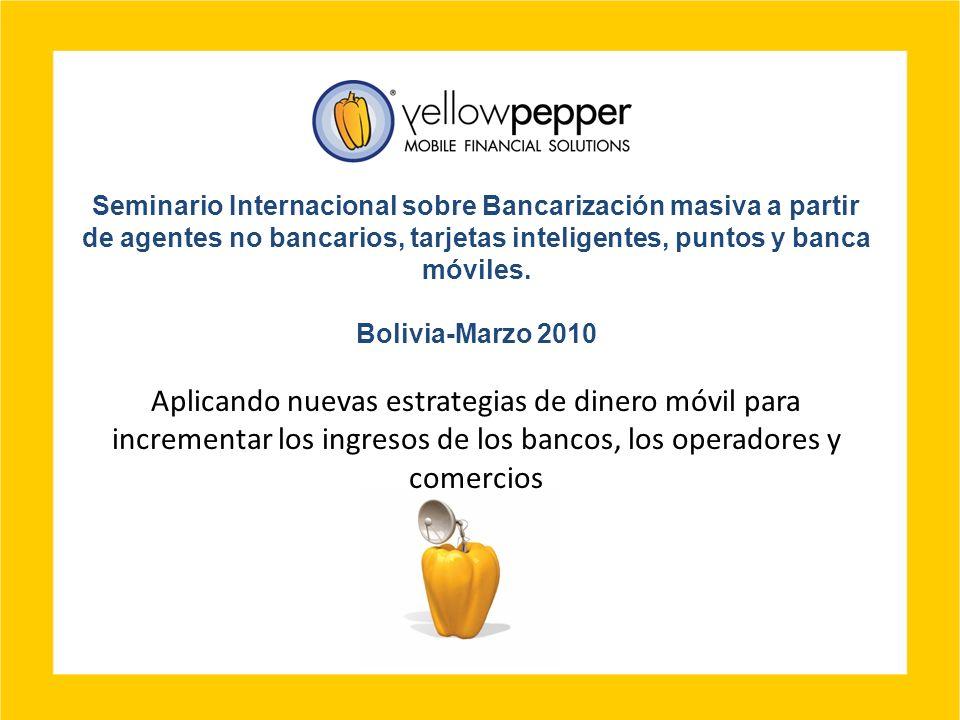 Seminario Internacional sobre Bancarización masiva a partir