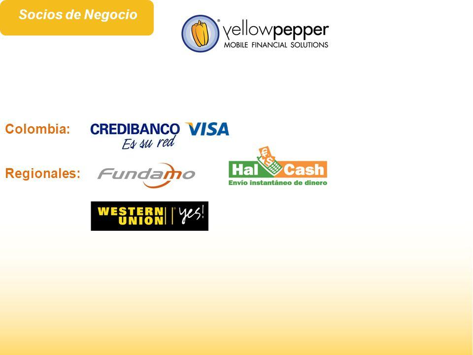 Socios de Negocio Colombia: Regionales: 7