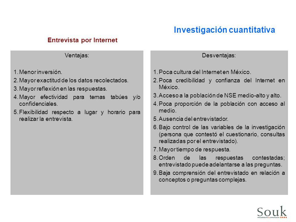 Entrevista por Internet