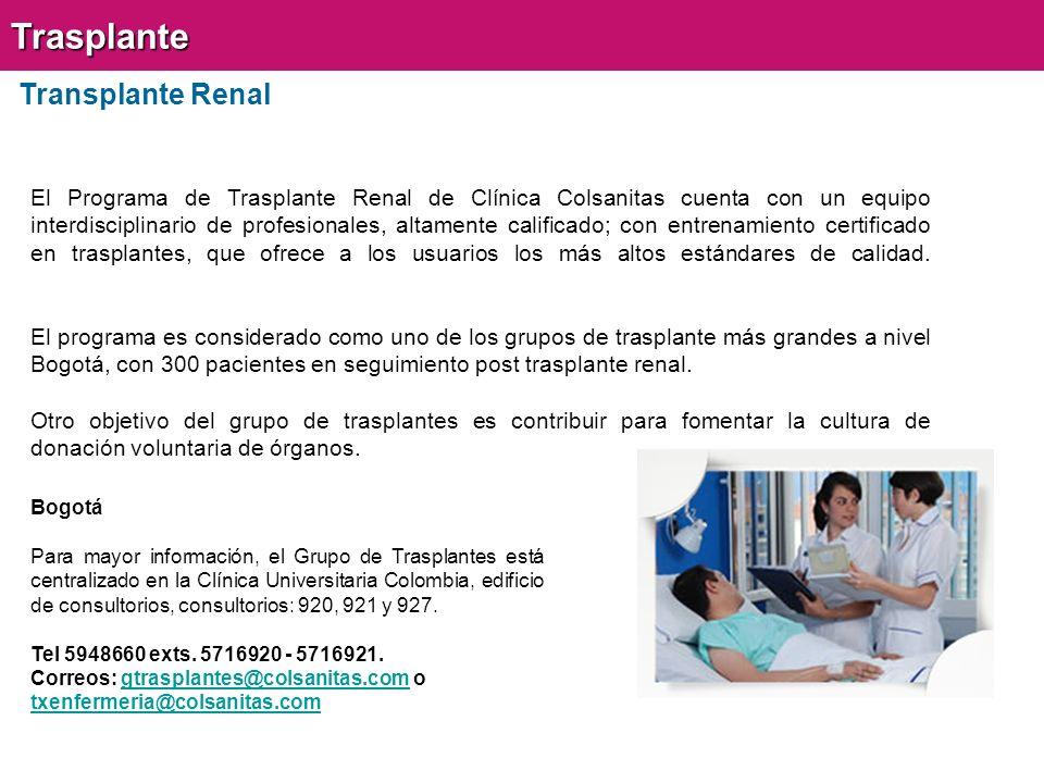 Trasplante Transplante Renal