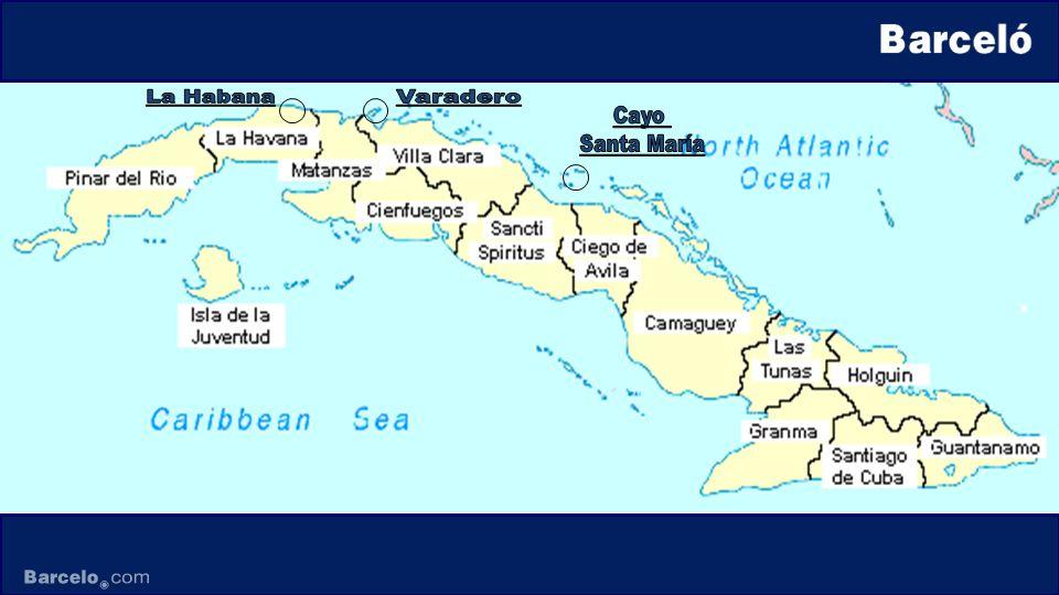 La Habana Varadero Cayo Santa María