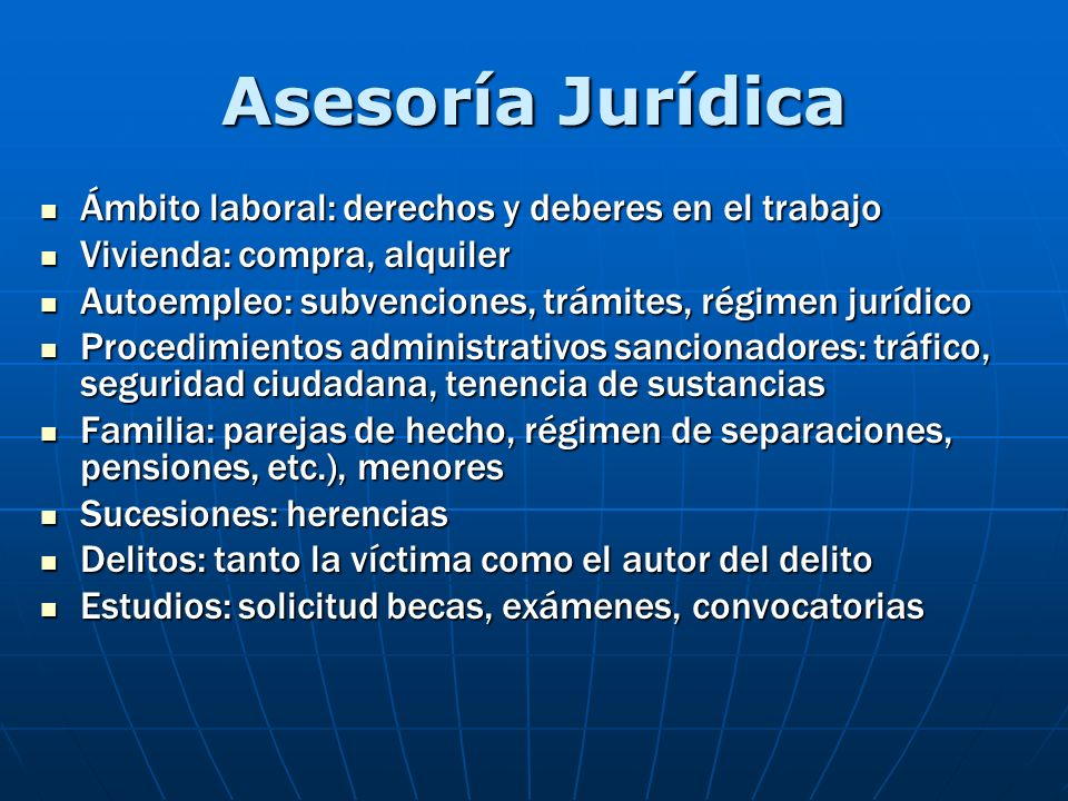 Asesoría Jurídica Ámbito laboral: derechos y deberes en el trabajo