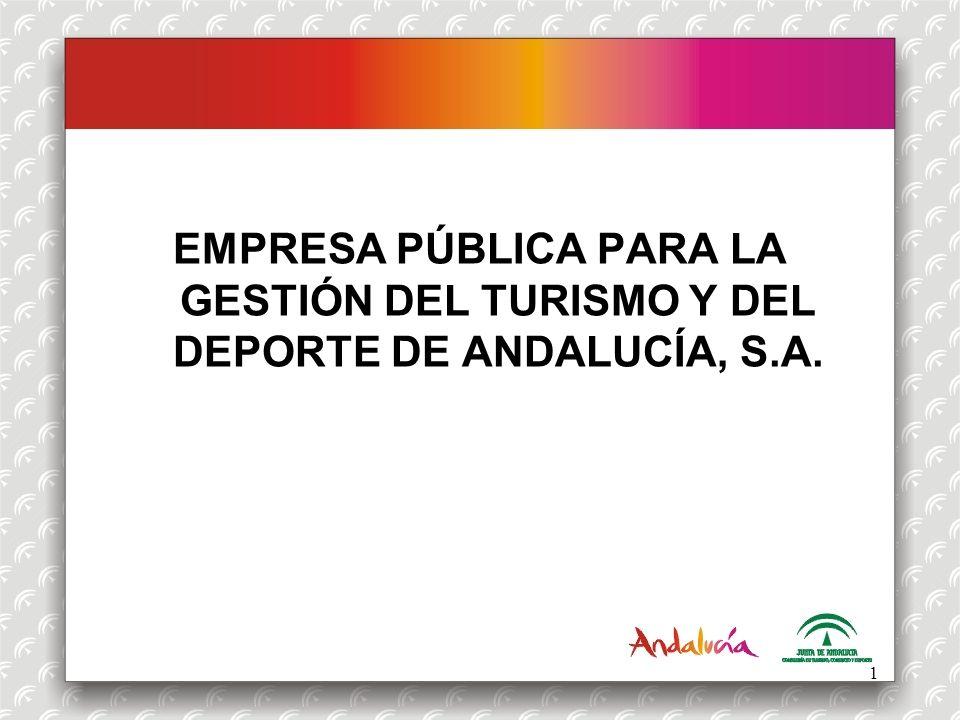 OFERTA DEPORTIVA EMPRESA PÚBLICA PARA LA GESTIÓN DEL TURISMO Y DEL DEPORTE DE ANDALUCÍA, S.A.