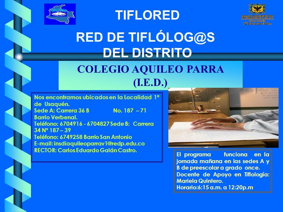 COLEGIO AQUILEO PARRA (I.E.D.)