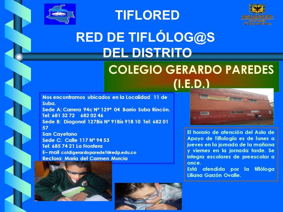 COLEGIO GERARDO PAREDES (I.E.D.)