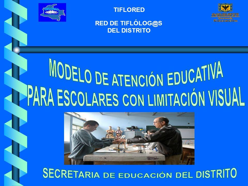 MODELO DE ATENCIÓN EDUCATIVA PARA ESCOLARES CON LIMITACIÓN VISUAL