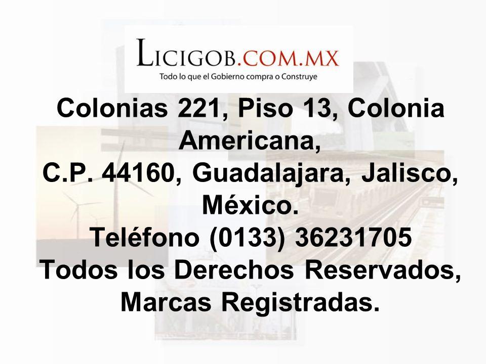 Colonias 221, Piso 13, Colonia Americana, C. P
