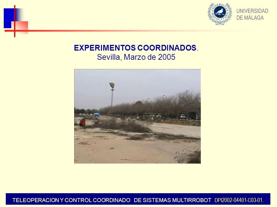 EXPERIMENTOS COORDINADOS.
