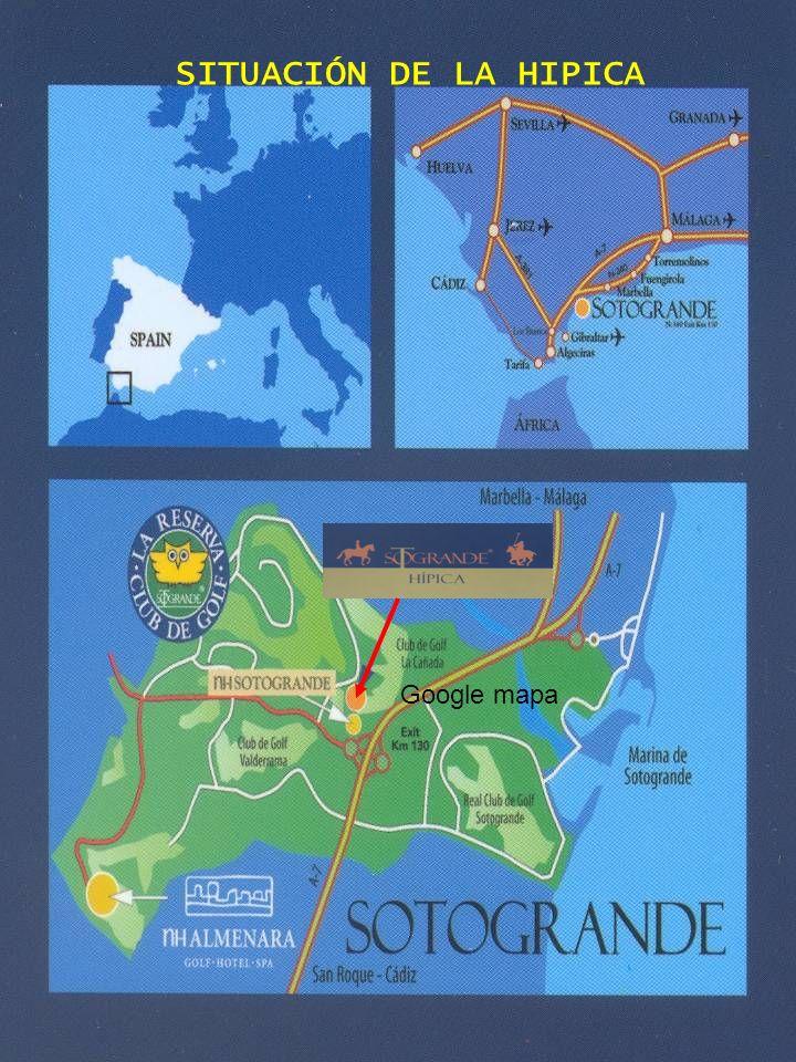 SITUACIÓN DE LA HIPICA Google mapa