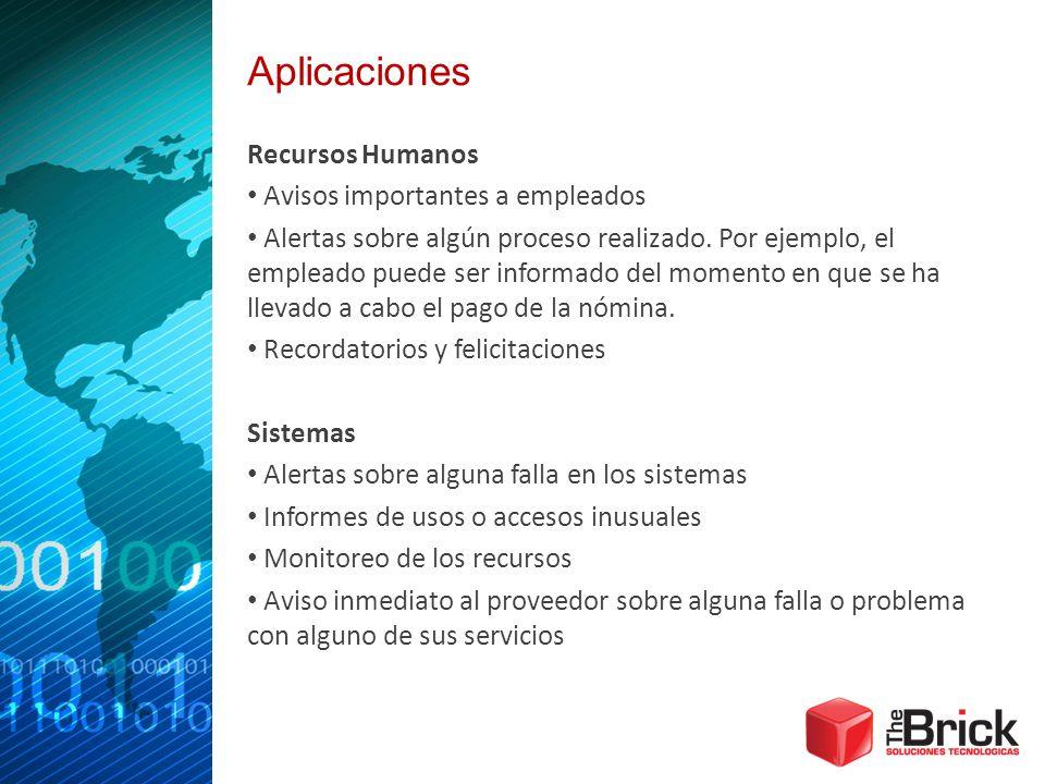 Aplicaciones Recursos Humanos Avisos importantes a empleados