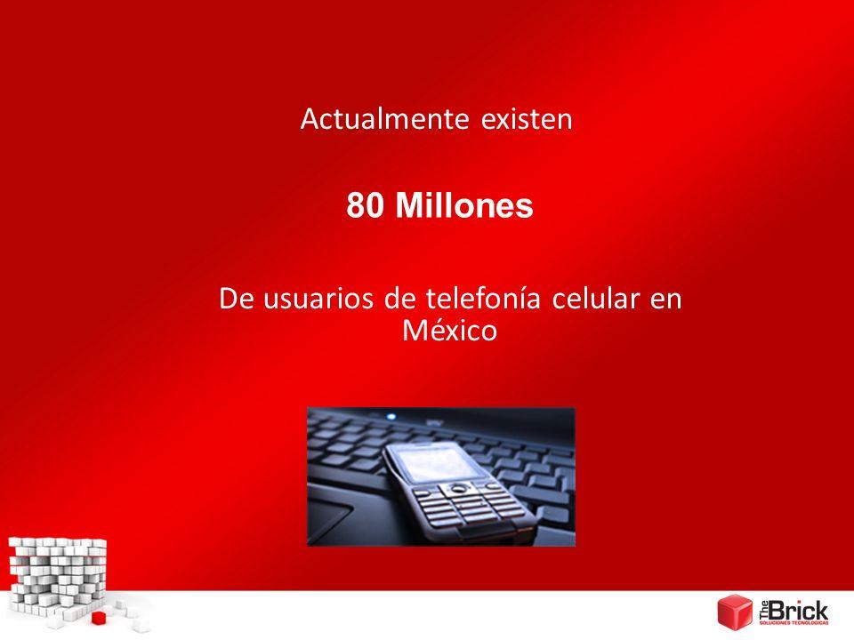 De usuarios de telefonía celular en México