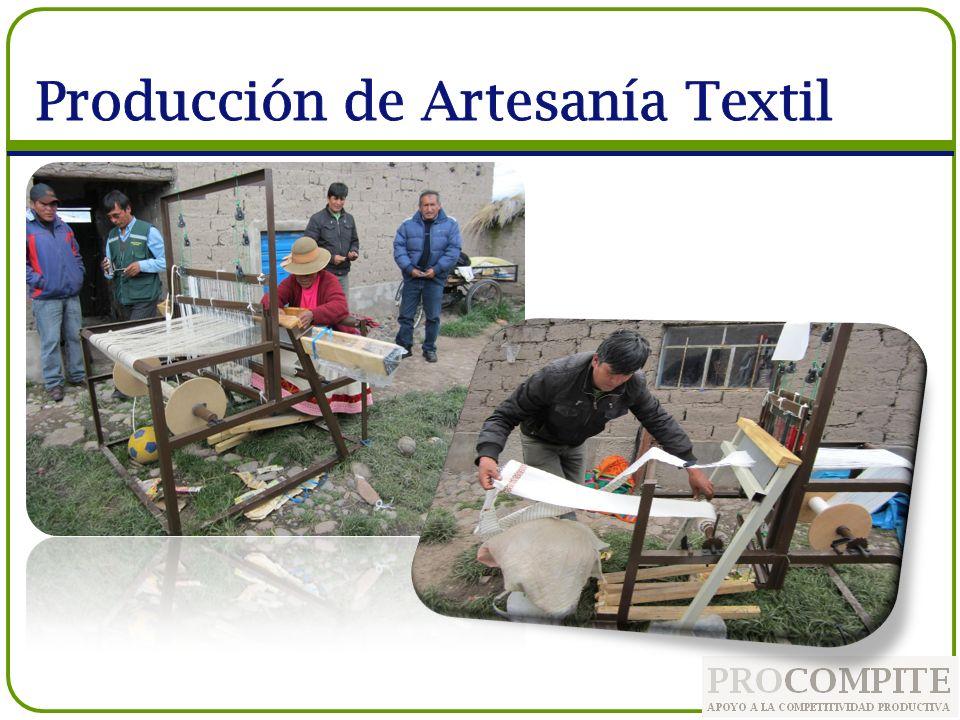 Producción de Artesanía Textil