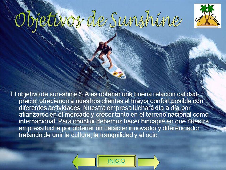 Objetivos de Sunshine