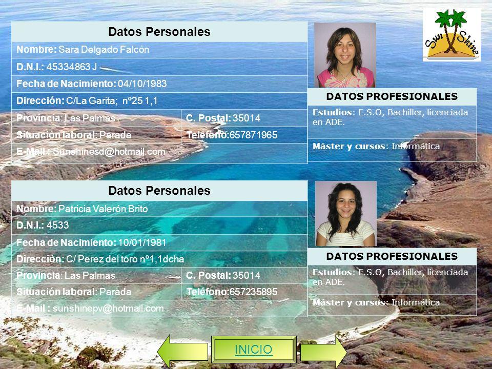 Datos Personales Datos Personales