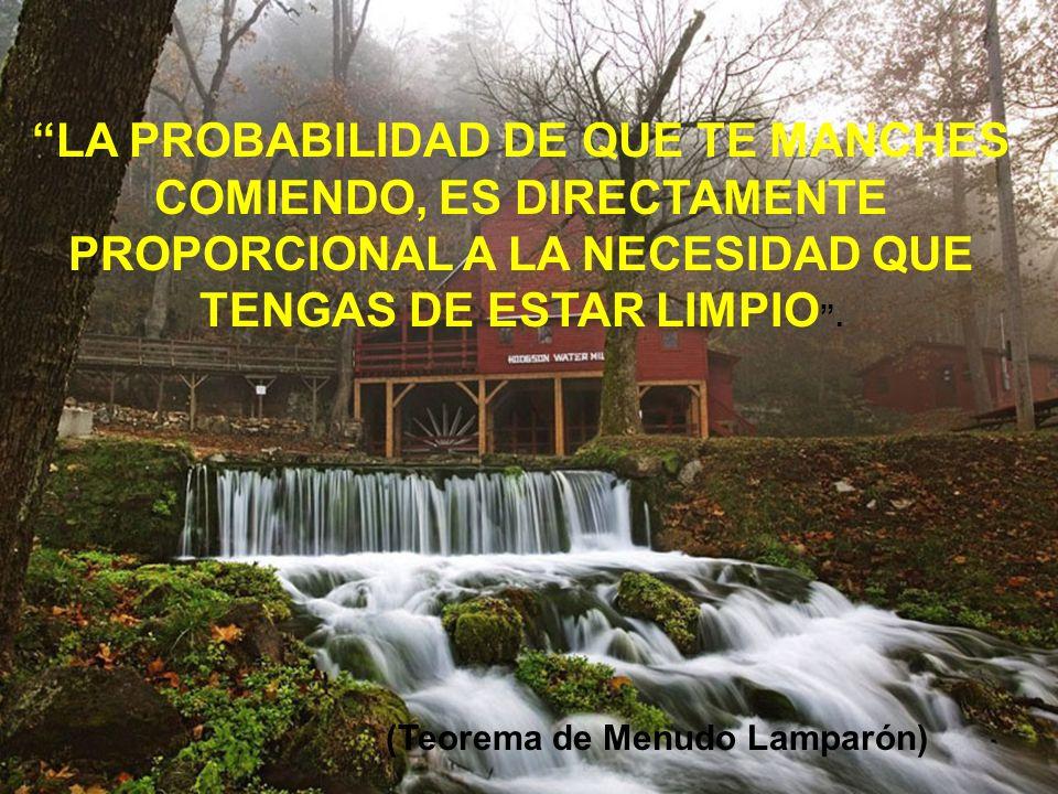 (Teorema de Menudo Lamparón)
