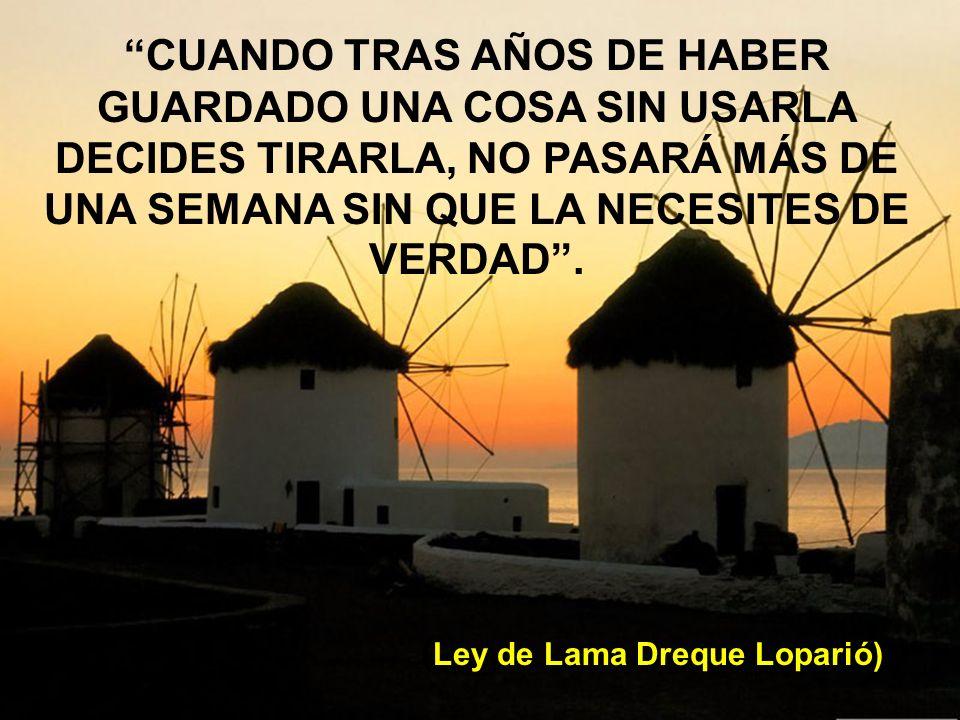 (Ley de Lama Dreque Loparió)