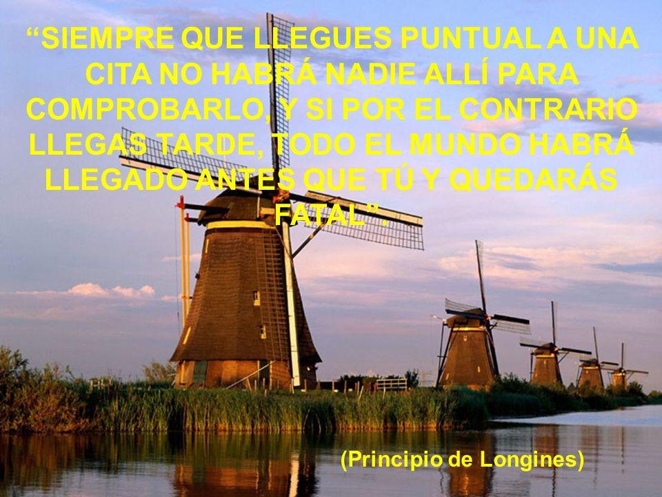 (Principio de Longines)