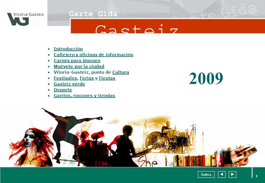 Gasteiz 2009 Gazte Gida Introducción