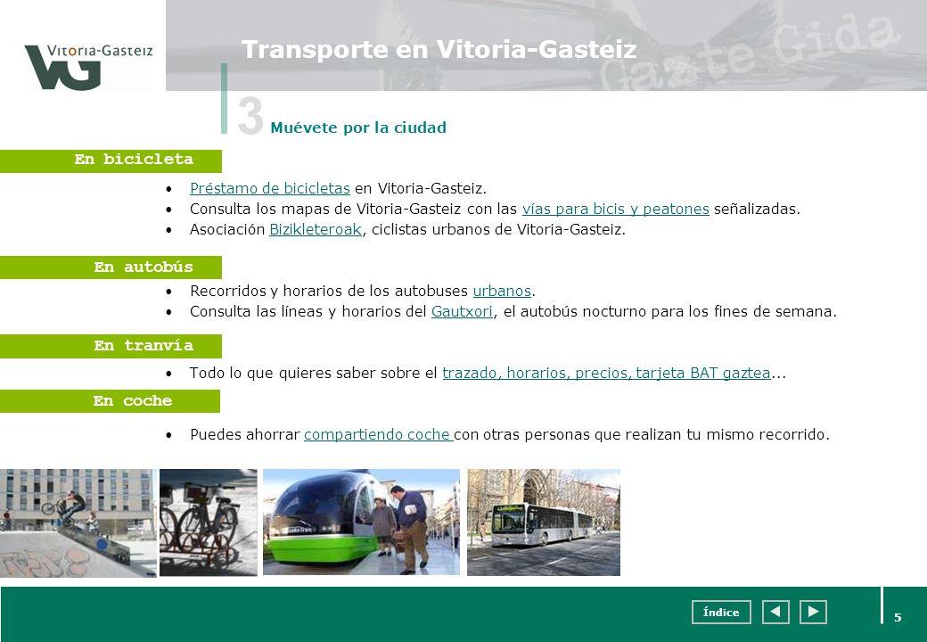 Transporte en Vitoria-Gasteiz