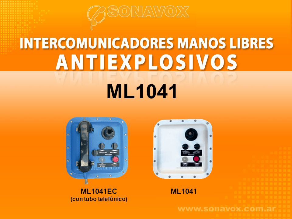 ML1041 ML1041EC (con tubo telefónico) ML1041