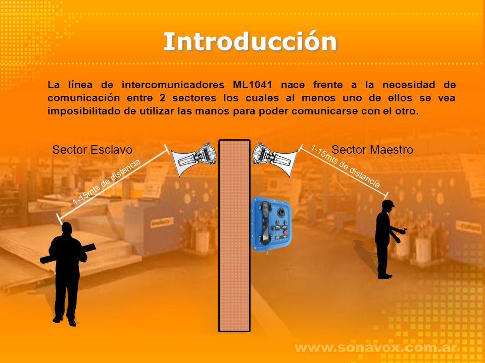 Introducción Sector Esclavo Sector Maestro