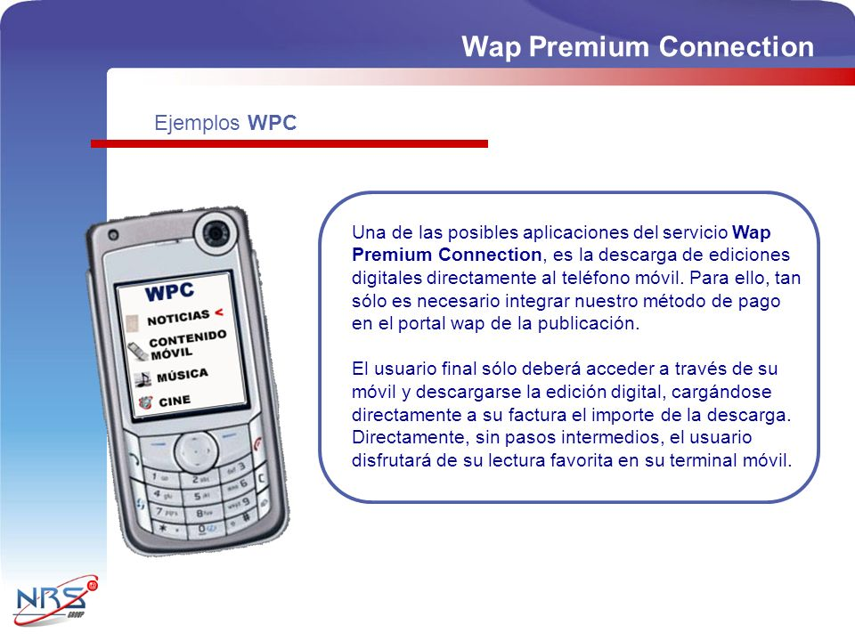Wap Premium Connection