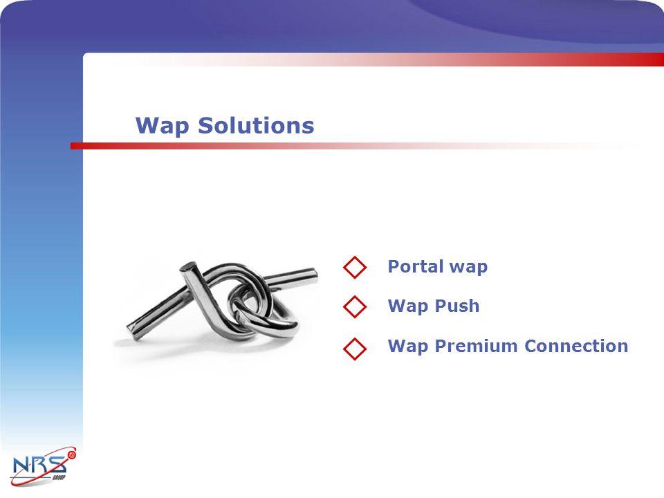 Wap Solutions Portal wap Wap Push Wap Premium Connection