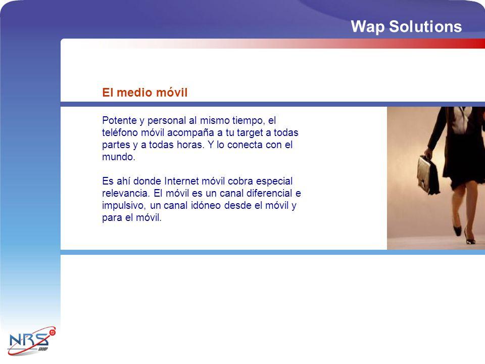 Wap Solutions El medio móvil