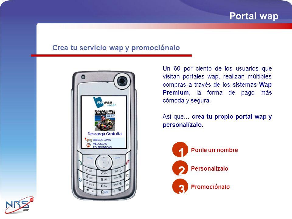 1 2 3 Portal wap Crea tu servicio wap y promociónalo