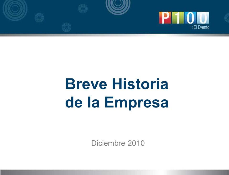 Breve Historia de la Empresa