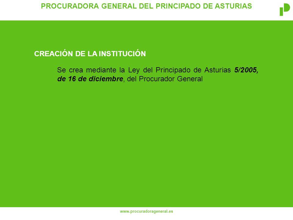 PROCURADORA GENERAL DEL PRINCIPADO DE ASTURIAS