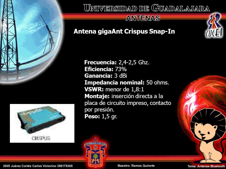 Antena gigaAnt Crispus Snap-In