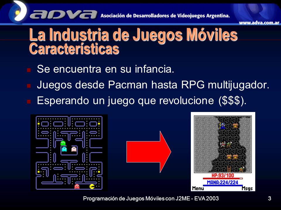 La Industria de Juegos Móviles Características