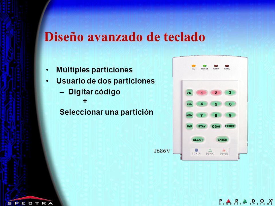 Diseño avanzado de teclado