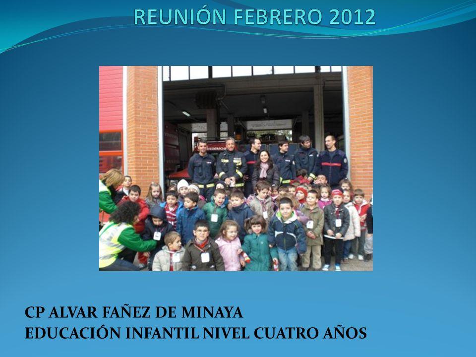 CP ALVAR FAÑEZ DE MINAYA EDUCACIÓN INFANTIL NIVEL CUATRO AÑOS
